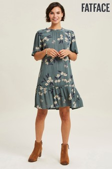FatFace Louise Etched Floral Dress