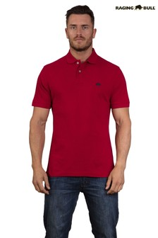 Raging Bull Red Signature Polo