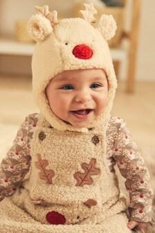 Character Trapper Hat (Newborn)