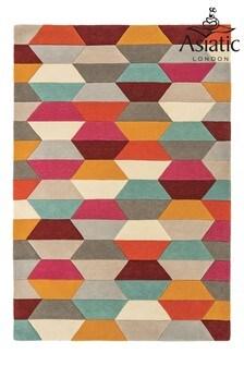 Funk Geo Wool Rug by Asiatic Rugs