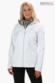 Regatta White Hamara II Waterproof Jacket