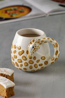 Giraffe Shaped Mug