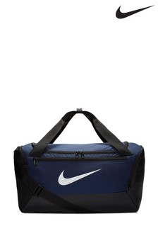 Nike Blue Brasilia Small Training Duffle Bag