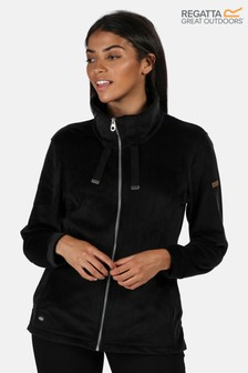 Regatta Black Odelia Full Zip Fleece Jacket