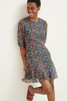 Short Sleeve Flippy Dress
