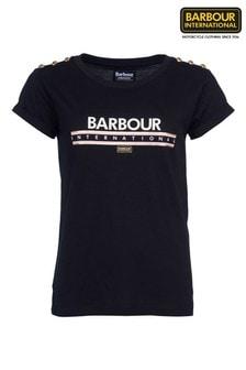 Barbour® International Metallic Logo Zone T-Shirt