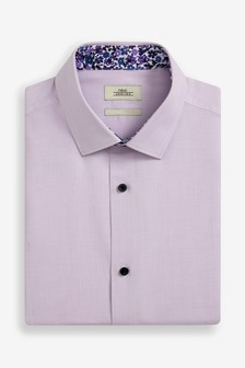 Short Sleeve Trim Detail Shirt