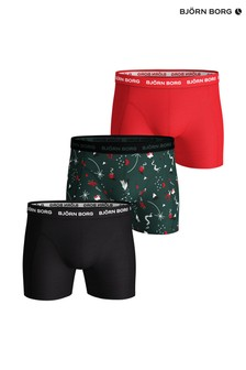 Bjorn Borg Trunks Three Pack
