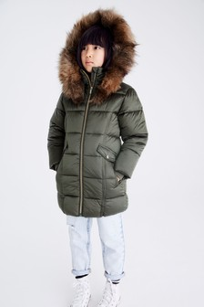 Two Tone Shower Resistant Padded Jacket (3-16yrs)
