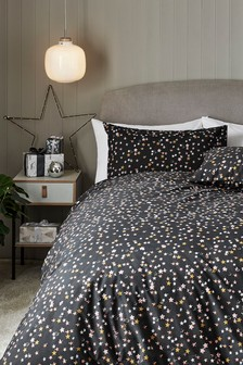 Multi Star Duvet Cover And Pillowcase Set