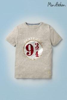 Boden Harry Potter Platform 9¾ Sequin T-shirt