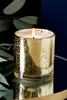 Golden Amber Waxfill Candle