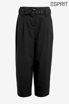 Esprit Black Stretch Culottes