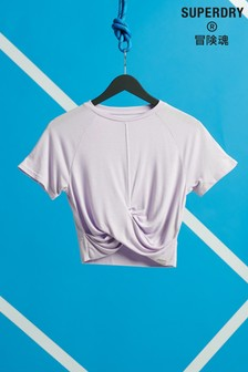 Superdry Studio Cross T-Shirt