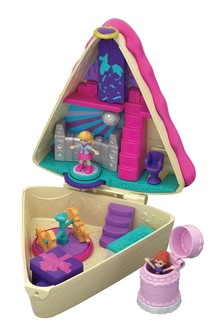 Polly Pocket Birthday Cake Bash Compact Playset