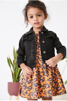 Denim Stretch Western Jacket (3mths-7yrs)