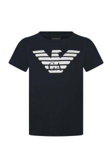 Boys Cotton Logo T-Shirt