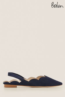 Boden Blue Lilian Slingback Shoes