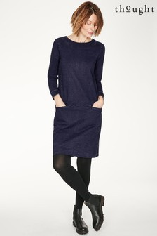 Thought Blue Pelly Dress