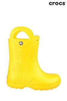 Crocs™ Yellow Handle It Rain Boots