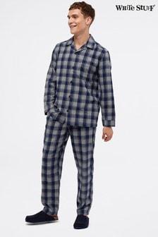 White Stuff Grey Windsor Check Pyjama Set