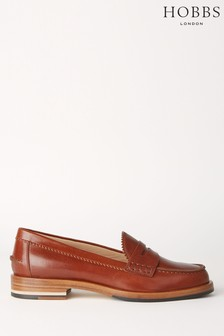 Hobbs Tan Allegra Loafers