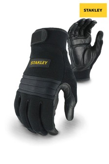 Stanley Black Vibration Performance Glove