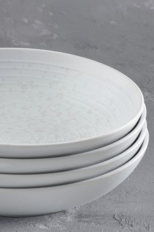 Bronx Dinnerware Set of 4 Pasta Bowls