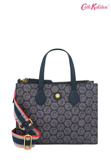 Cath Kidston® Blue Frestonia Grab Cross Body Bag