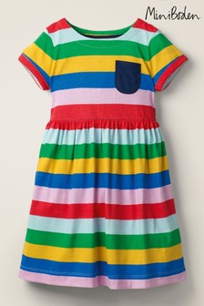 Mini Boden Multi Fun Jersey Dress