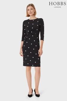 Hobbs Black Cassia Dress