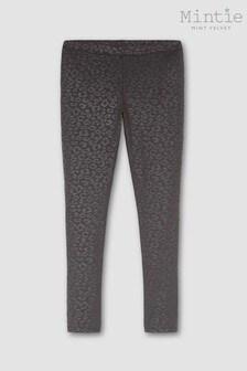 Mintie by Mint Velvet Black Animal Print Leggings