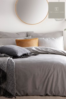 Claybourne Grey Bedset by The Linen Yard