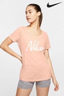 Nike Dri-FIT Cotton Logo T-Shirt