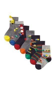 7 Pack Transport Socks