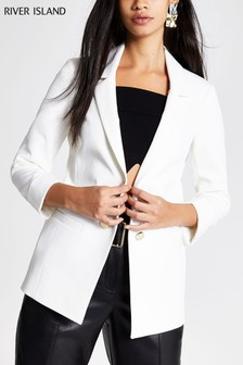 River Island White Ritchie Jacket
