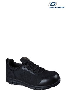 Skechers® Black Synergy Omat Safety Trainers