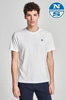North Sails White Logo T-Shirt
