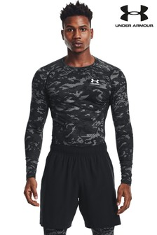 Under Armour HeatGear Camo Long Sleeve T-Shirt