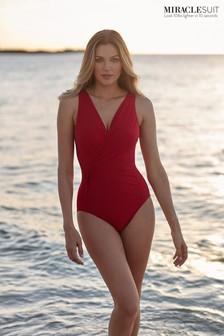 Miraclesuit® Red Esmerelda Swimsuit