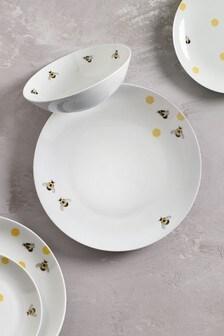 12 Piece Bees Dinner Set