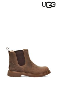 UGG® Brown Bolden Chelsea Gusset Boots