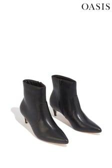 Oasis Kitten Heel Boots