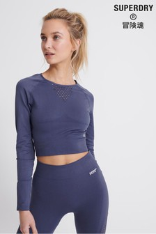 Superdry Studio Seamless Long Sleeve Top