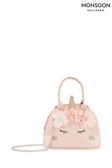 Monsoon Pink Majestic Garden Unicorn Bag