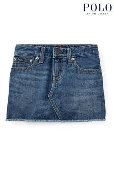 Ralph Lauren Blue Denim Skirt
