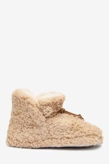 Borg Slipper Boots