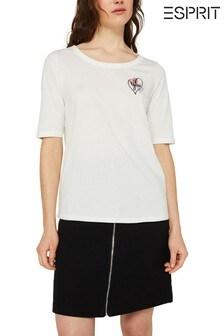 Esprit Natural Art-Work Print T-Shirt