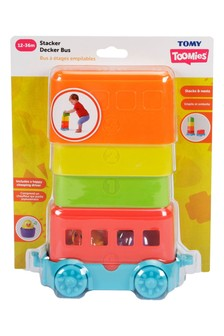 Tomy Toomies Stacker Decker Bus Stacking Toy