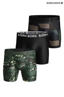 Bjorn Borg Digital Woodland Per Shorts Three Pack